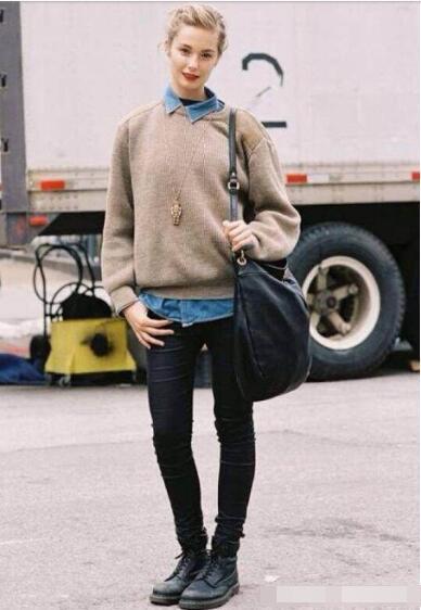 【时尚】马丁靴配什么裤子才好看 马丁靴这样穿帅到没朋友