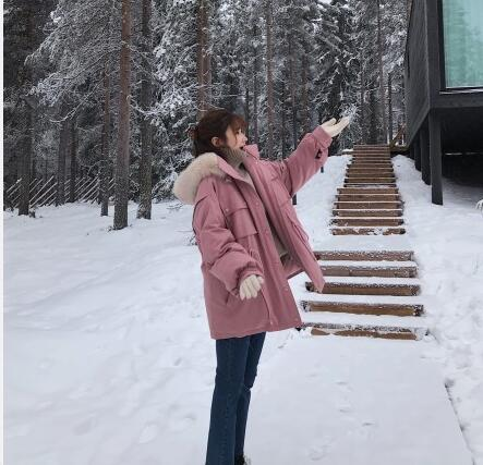 【推荐】冬季女孩怎么穿? 中长款棉服这几种就够了