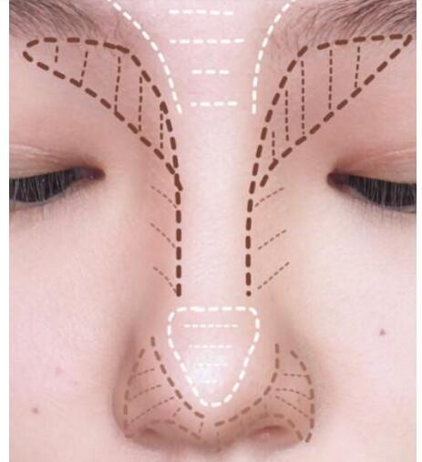 【干货】鼻影的正确打开方式 鼻影怎么打画法图解(详细)