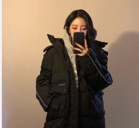 【第一周】冬季一周穿搭  黑色羽绒服配出潮流感